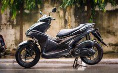 Download wallpapers Yamaha NVX, 4k, rain, 2018 bikes, scooter, Yamaha