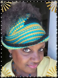 This is a fun take on messy bun hats! We love this Twisted Messy Bun Hat style so much. Crochet Adult Hat, Crochet Cap, All Free Crochet, Braided Hairstyles Updo, Updo Hairstyle, Prom Hairstyles, Braided Updo, Front Post Double Crochet, Elastic Hair Ties