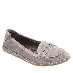 The soft corduroy fabric makes stepping into these rubber soled flats as simple as 1,2,3 @Rachel Winslow Dog #rocketdogshoes $44.95