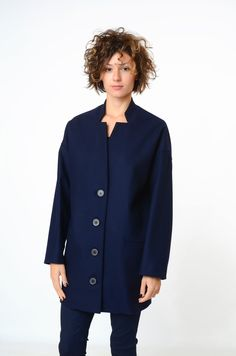 $934.95 Oversize coat available in blue http://www.flooly.com/us/cappotto-830sign/13996 and black http://www.flooly.com/us/830sign-women-coat/13999