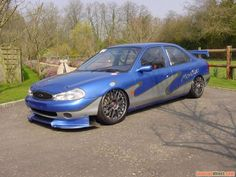 racecarsdirect.com (Race Cars For Sale) » Ford Mondeo Super V6 BTCC touring car - SOLD