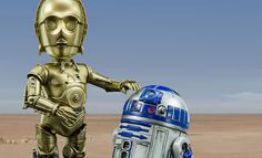 The Herocross C-3PO and R2-D2 Collectible Figures are now available at Sideshow.com for fans of Star Wars Episode IV A New Hope.