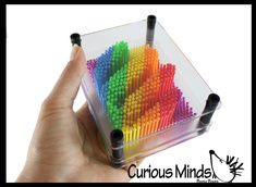 Pin Art, Fidget Toys, Cool Toys, Rainbow, Sculpture, Fun, Rain Bow, Rainbows, Sculptures