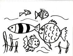 #DibujoPeces #DibujoParaColorear #DibujoFacilParaNiños del #canalDeDibujo para #AprenderADibujar o #AprenderAPintar de #TallerArteLibre https://www.youtube.com/user/exitoparatodos/
