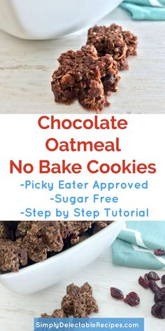 To hot to start your oven? Try these incredible chocolate no bake oatmeal cookies! Even my pickiest eater will eat them. Made with cranberries,coconut, honey oatmeal and hemp hearts they are secretly healthy, but I promise they will never know! This easy recipe only takes 5 minutes to make. via @jacquelineSDR