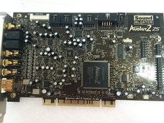 Creative SB0350 Sound Blaster Audigy 2 ZS 7.1 Channels PCI Sound Card