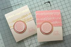 Karos Kreativkram: Zuckersüße kleine Teebeutel-Verpackungen