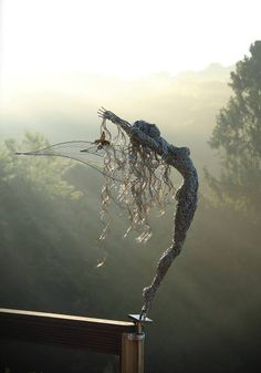 Robin Wight - Wire Fairy Sculptures                                                                                                                                                      More