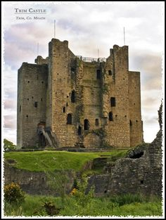 Trim Castle - Norman Stronghold II - Trim, Meath. Go here! The tour is great, and the view from the top is spectacular.