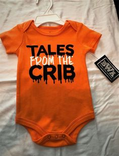 64489ebec99 NWT BWA(Babies with Attitude) Tales From Crib Halloween 6 Months (13-
