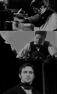 """North & South"" - Mr. Thornton. // Man of work, man of feeling."