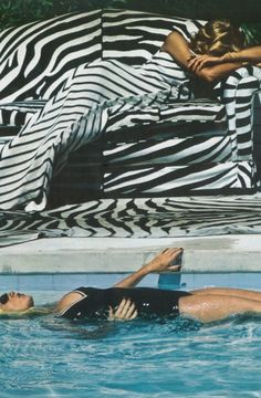 Helmut Newton for Vogue Paris June/July 1973