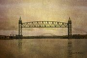 """Cape Cod canal and Bridges"" http://1-david-gordon.artistwebsites.com/featured/cape-cod-canal-and-bridges-dave-gordon.html"