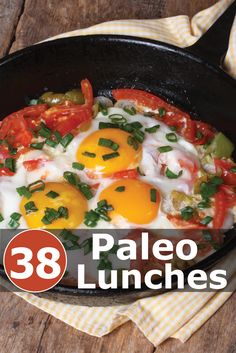 38 Paleo Lunch recipes