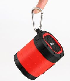 Waterproof Portable Bluetooth Speaker Wireless Outdoor/Shower Speaker Red