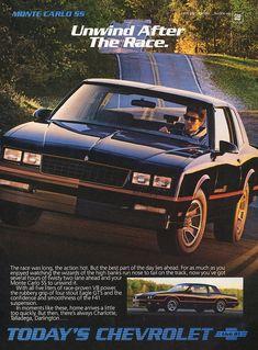 Chevrolet Monte 1986 want an but this will do Chevrolet Monte Carlo, Chevrolet Usa, Vintage Advertisements, Vintage Ads, Vintage Trends, Car Brochure, Las Vegas, Car Memes, Car Advertising