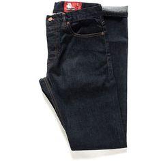 Slim Selvedge Jeans - 1 Month Wash