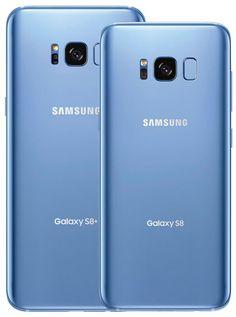 Samsung Galaxy S8/S8 in Coral Blue aufgetaucht