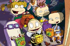 Happy Halloween from the Rugrats 90s Nickelodeon Cartoons, Nickelodeon Shows, Old Cartoons, Halloween Cartoons, Halloween Quotes, Happy Halloween, Chuckie Rugrats, Rugrats Cartoon, Cartoon Memes