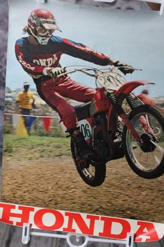 Marty Tripes, Vintage Motocross from about 1971 give or take a few years.