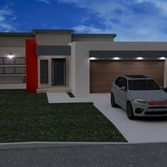 3 Bedroom House Plan – My Building Plans South Africa Double Storey House Plans, Double Story House, Open House Plans, House Plans One Story, House Floor Plans, Flat Roof House Designs, Bungalow House Design, Minimalist House Design, Modern House Design