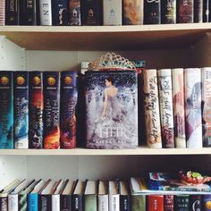 YA Books with The Heir having a crown at center stage