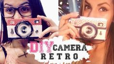 DIY ❤ Câmera Retrô (Fácil)