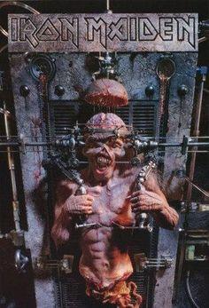 Iron Maiden Premium Tissu Poster Piece of Mind