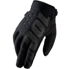 2016 100% Brisker Cold Weather Gloves - Black
