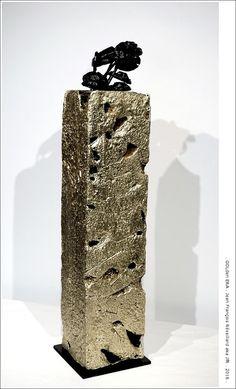 GOLDen ERA. Engelberg, Impression 3d, 3 D, 3d Printing, Contemporary Art, Mixed Media, Objects, Vase, Sculpture