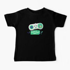 """""""Retro Gamer Game Controller"""" Baby T-Shirt by altwhimsy 