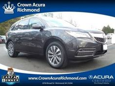 Acura Certified Used Crown Richmond Acura Dealer Inventory Our - Acura dealership in richmond va