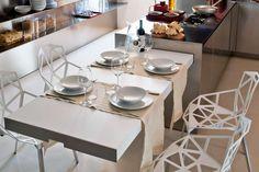Cucina penisola estraibile - Cucina moderna con penisola