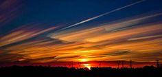 Imagen 4.  Fotografía de nubes de larga exposición.