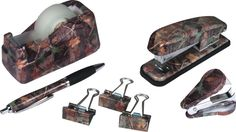 Camo Office Desk Set - NEED for my office