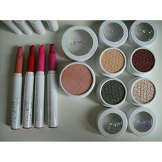 Colourpop Set No price negotiations. Please understand original price is $48. No tearing apart the set. It is sold as is. Boxes not included. -Highlighting Blush in Teasecake (pearlized) pale pink -Eyeshadows: Downtown (matte) cool taupe, Halo (satin luxe) golden champagne w/ gold glitter, Lovely (metallic) light gold w/ glitter, Drift (pearlized) cranberry -Lippie Stix in Heart On (matte) cool magenta, Button (satin) peach nude, Tuxedo (hyperglossy) bright pink, Confetti (hyperglossy) cool…