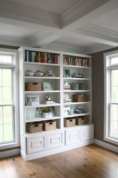 Four simples steps how to create an eye-catching bookcase display.