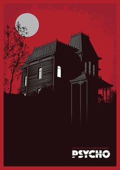 Psycho by Daniel Pullan