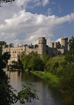 Warwick Castle towers,UK.