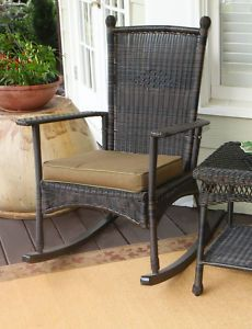 black wicker rocking chair outdoor chairs that convert to twin beds lane offers end tables furniture avidlove women deep v halter lingerie lace babydoll mini bodysuit