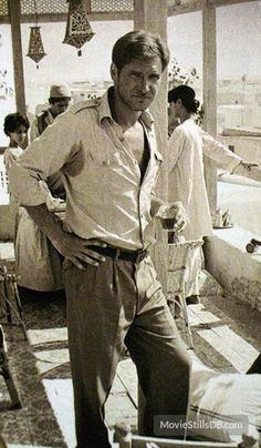 As awesome as the hat and gunbelt, etc. are, I do like seeing Indy in just the shirt and pants.  It's a nice, casual look that's easy to wear in public while also secretly dressing like Indiana Jones.
