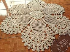 Amazing Methods to make an imperial rug in a crochet room Terrific Methods to make an imperial r. Free Crochet Doily Patterns, Crochet Borders, Crochet Chart, Thread Crochet, Filet Crochet, Crochet Designs, Crochet Flor, Crochet Dollies, Easter Crochet
