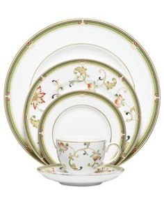 Wedgwood Dinnerware, Oberon 5 Piece Place Setting - Wedgwood - Dining & Entertaining - Macy's
