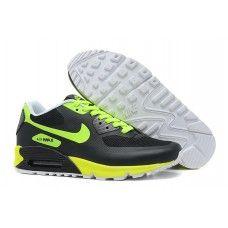 quality design 6c697 d07ff Baskets Nike Air Max 90 Hyperfuse Premium Noir Cargo Kaki Volt Discount-20 Nike  Air