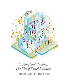 The rise of social business.  Learn how IBM is leading. #socbiz
