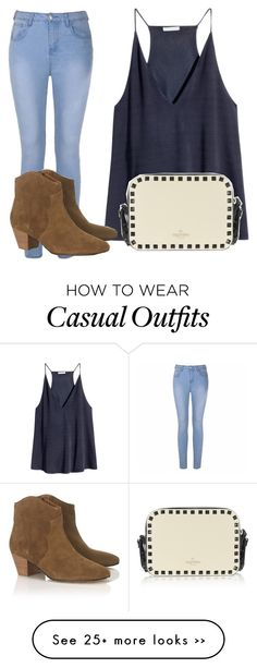 """outfit casual"" by abbygirly on Polyvore featuring H&M, Ally Fashion and Isabel Marant"