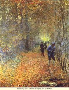 Claude Monet. The Hunt.