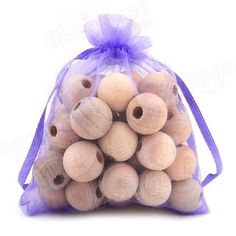 Honana HN-CP1 20Pcs Wood Camphor Pest Repellent Anti Bug Moth Cedar Granular Balls Wardrobes