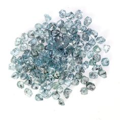 Blue African Rough Diamond Natural 3.00 ct Sparking trasferent Diamonds Lot