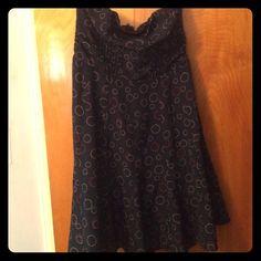 American eagle strapless dress Adorable polka dot dress! American Eagle Outfitters Dresses Strapless